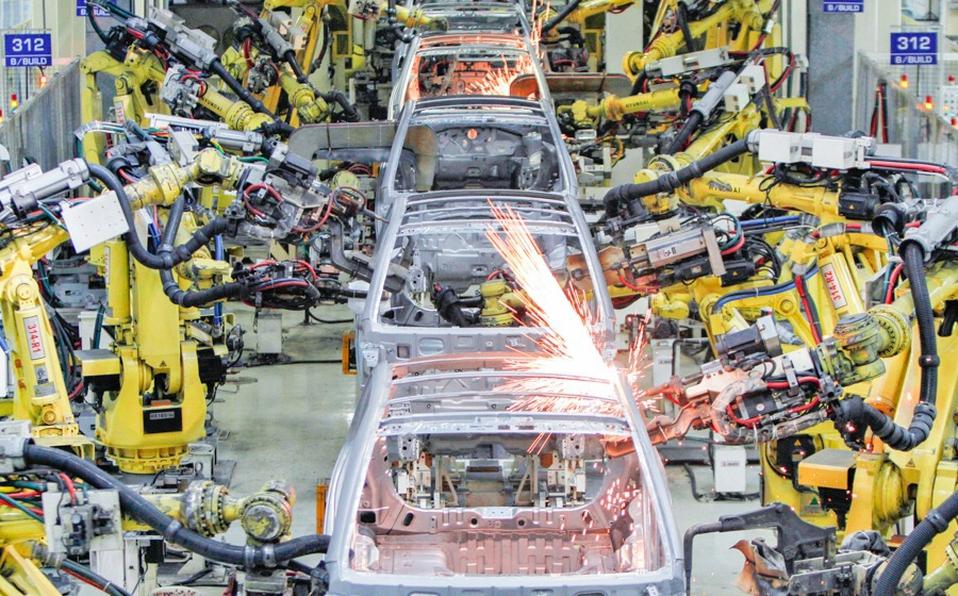 Producción de autos por fabricantes de automóviles.