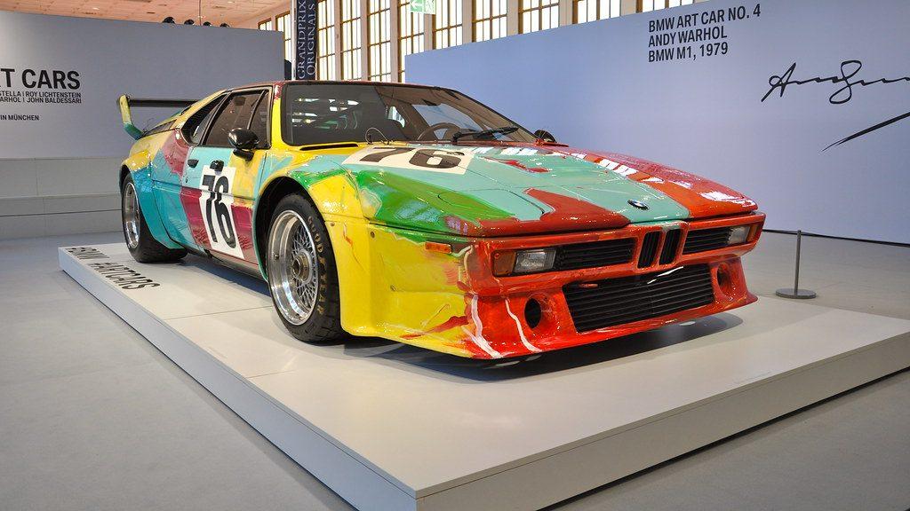 BMW M1 Andy Warhol